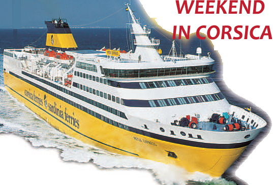 Corsica Ferries Weekend