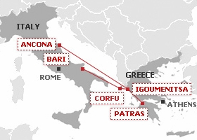Superfast Ferries Italy Greece