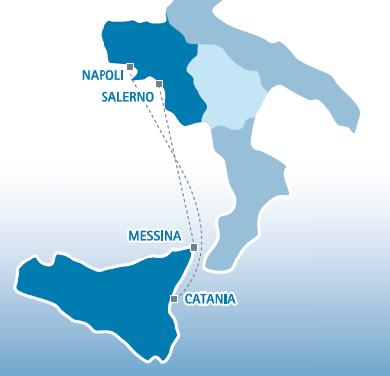 tttlines & Tourist traghetto Sicilia